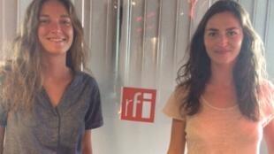 Bérénice Gaymard et Lara Mercier