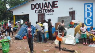 Des Congolais expulsés d'Angola, le 9 octobre 2018.