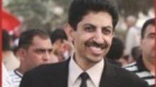 Abdulhadi al khawaja, ancien directeur du centre bahreïnien des droits de l'Homme.