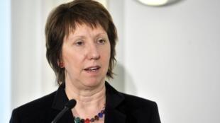 Mkuu wa sera za kigeni katika Umoja wa Ulaya EU,Catherine Ashton