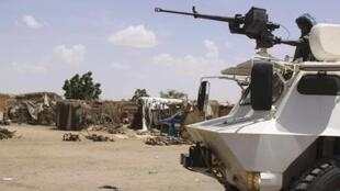Jeshi la UNAMID likiwa katika jimbo la Darfur nchini Sudan