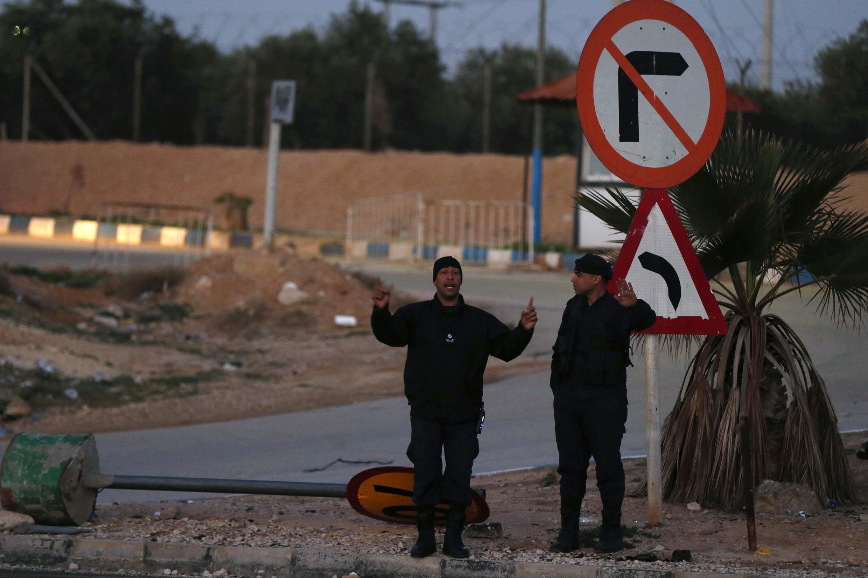 Nhà tù Swaqa tại Jordani, nơi hành quyết hai người tham gia thánh chiến Hồi giáo - REUTERS /Muhammad Hamed