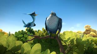 Une photo du film d'animation <i>Gus, petit oiseau grand voyage</i>.