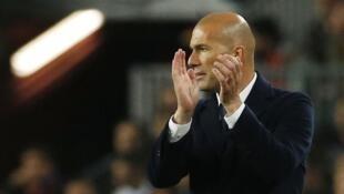 Mai horar da Real Madrid Zinaden Zidane.