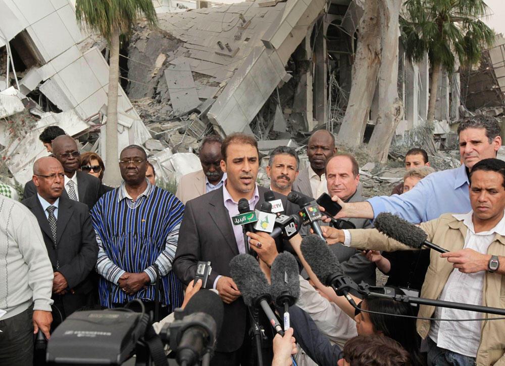 Moussa Ibrahim akitolea mwito NATO kusitisha mashambulizi na kuanzisha mazungumzo ya kuutanzua mzozo wa kisiasa nchini libya