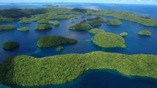 Quần đảo Palau nằm ở Thái Bình Dương. Ảnh minh họa.