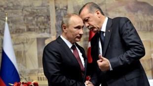 بحران سوریه در محور گفتگوهای روسای جمهوری ترکیه و روسیه
