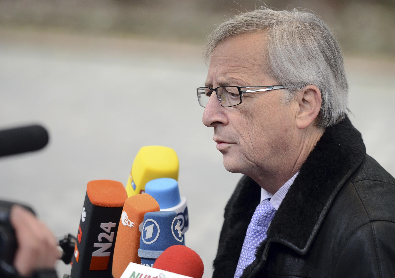 Jean-Claude Juncker, el premier de Luxemburgo, el pasado 14 de marzo de 2013.