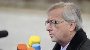 El primer ministro de Luxemburgo y presidente del Eurogrupo, Jean-Claude Juncker.