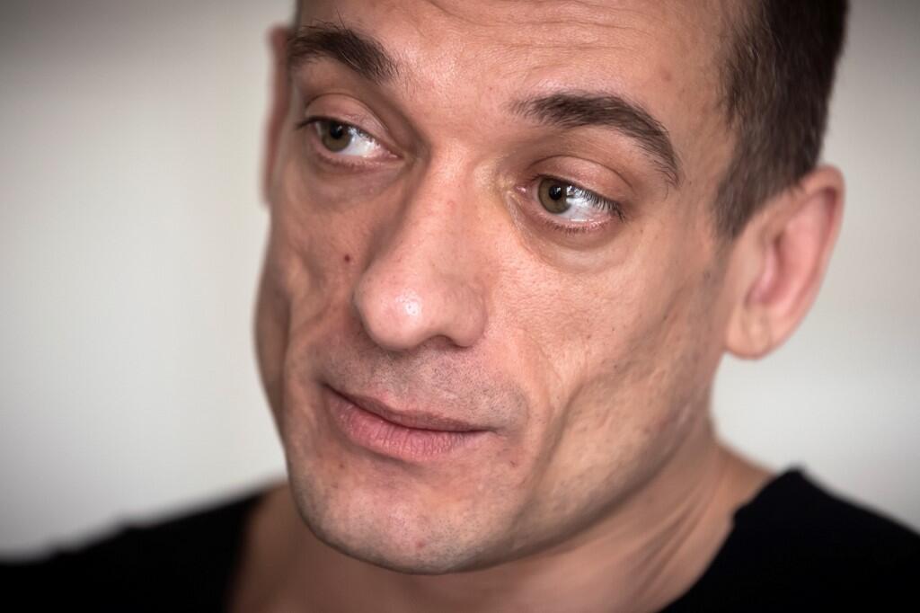 Петр Павленский накануне задержания. Париж. 14.02.2020