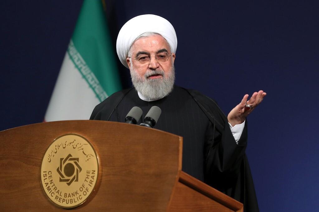 حسن روحانی، رئیس جمهوری اسلامی ایران.