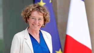 La ministre du Travail Muriel Pénicaud à la sortie du Conseil des ministres, mercredi 28 juin 2017 (photo d'illustration).