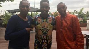 Claudy Siar, Black M et Mory Touré.