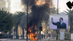 Tunis, le 14 janvier 2011.