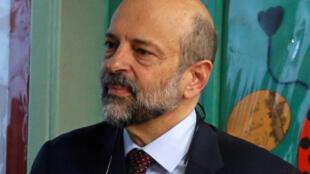 Omar al-Razzaz, le 10 avril 2018 à Amman.