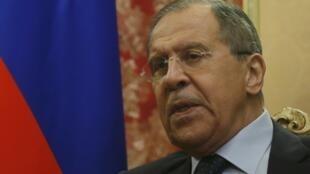 Sergueï Lavrov, ministre russe des Affaires étrangères, le 24 janvier 2017.
