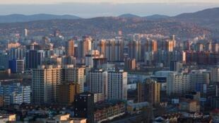 蒙古首都烏蘭巴托資料圖片