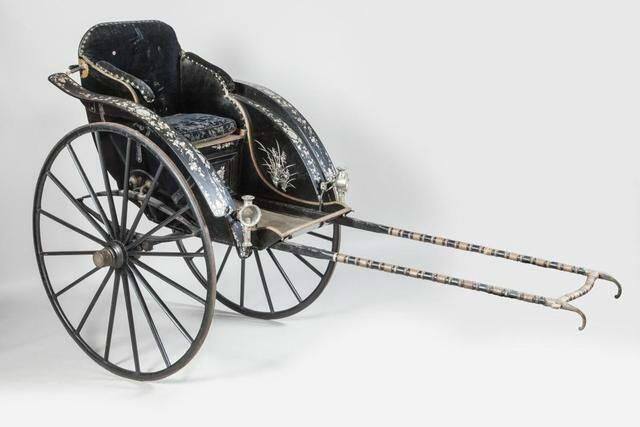 Chiếc xe kéo của Hoàng hậu Từ Minh, mẹ Vua Thành Thái - DR