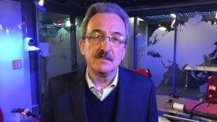 Luiz Dulci, vice-presidente do PT nos estúdios da RFI Brasil.