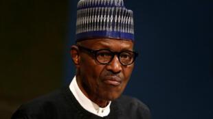 Muhammadu Buhari, Septemba 19, 2017 kwenye kikao cvha Umoja wa Mataifa huko New York.