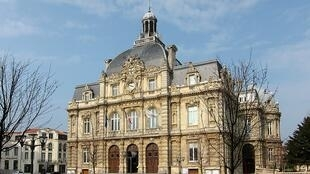 The town hall of Tourcoing