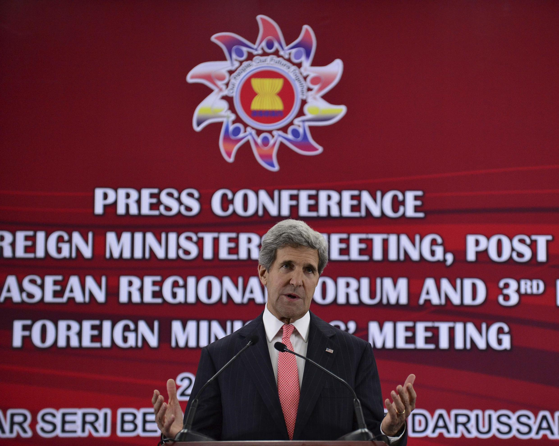 Ngoại trưởng Mỹ John Kerry nhân kỳ dự hội nghị ASEAN tại Brunei - Reuters