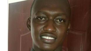 Le portrait du leader de l'Union nationale des étudiants tchadiens, Nadjo Kaina.