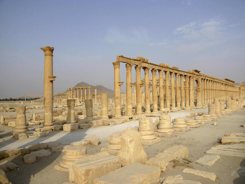 Le groupe Etat islamique poursuit son oeuvre de destruction dans l'antique cité de Palmyre, après la destruction d'un second temple.