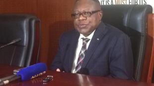 Mkurugenzi mtendaji taasisi ya mfuko wa uwezeshaji Afrika, Prof. Emmanuel Nnadozie. 7/03/2019