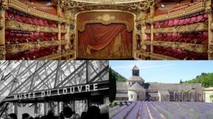 Óperas, museus, patrimônios, fazem parte da cultura francesa, deixada em segundo plano na campanha presidencial