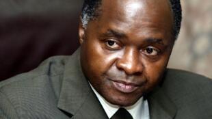 L'ancien ministre de Laurent Gbagbo, Hubert Oulaye, ici en mars 2004.