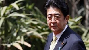 Thủ tướng Nhật Bản Shinzo Abe (ảnh chụp ngày 08/10/2013, nhân Thượng đỉnh APEC - Indonesia)