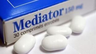 O Mediator foi retirado da circulação na França em 2009. Acusado de ter causado a morte de quinhentas a duas mil pessoas.
