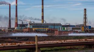 Une usine Norilsk Nickel, à Nadezhda (image d'illustration).