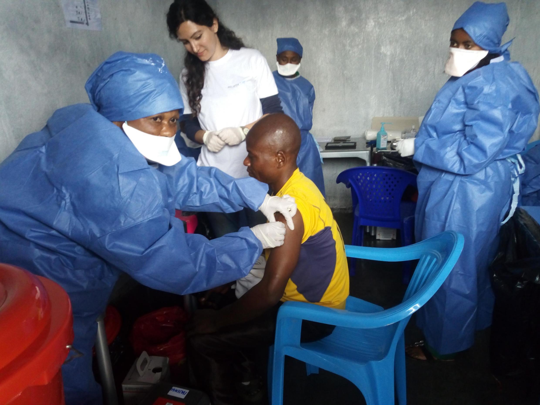 Un patient à Goma, dans le Nord-Kivu, consulté dans les locaux de Médecins sans frontières (image d'illustration).