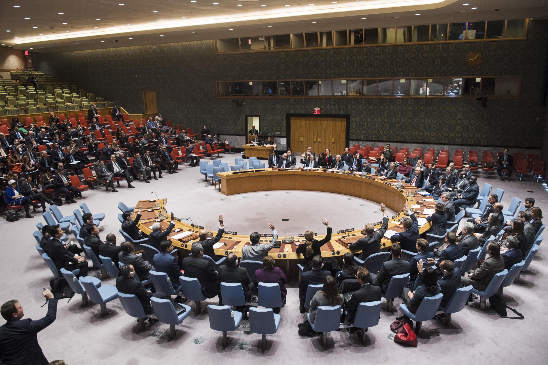 Một phiên họp Đại Hội Đồng Bảo An Liên Hiệp Quốc về Syria ngày 25/12/2016.