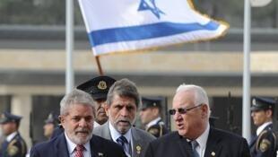 O presidente brasileiro Lula da Silva chegou a Israel no domingo, 14 de março, para uma visita de dois dias.