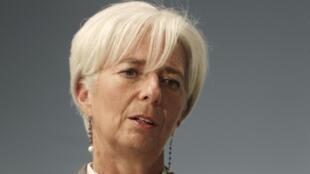 A diretora geral do FMI, Chistine Lagarde, mostra preocupação com perda da confiança na economia mundial.