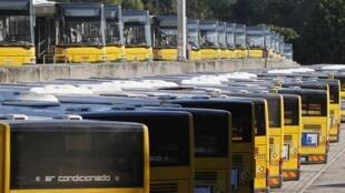 Автобусы не вышли на линии в Лиссабоне 24/11/2011