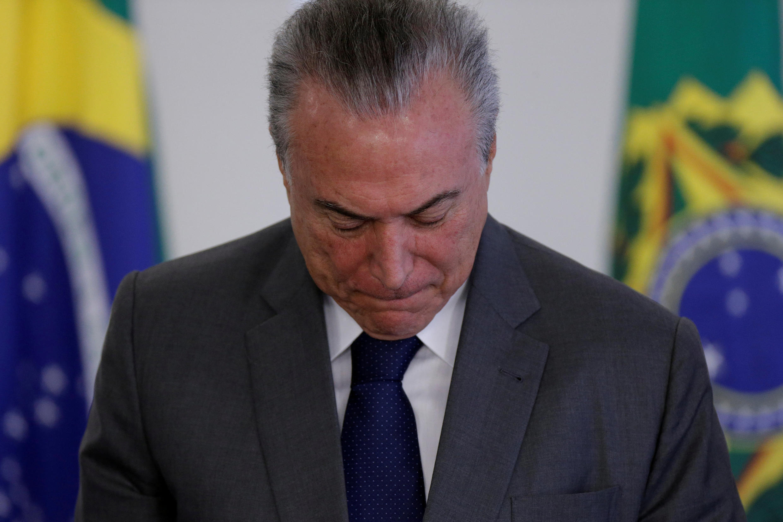 Rais wa Brazil Michel Temer