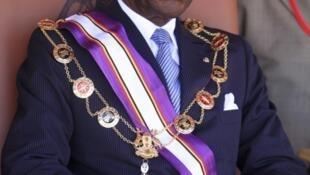 O Presidente da Guiné Equatorial Teodoro Obiang Nguema