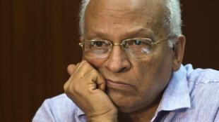 L'écrivain égyptien Gamal Ghitany est mort le 18 octobre 2015, à l'âge de 70 ans. Photo prise au Caire en 2013.