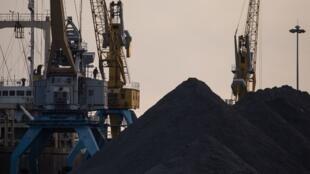 Une usine de charbon en Corée du nord. (Illustration).