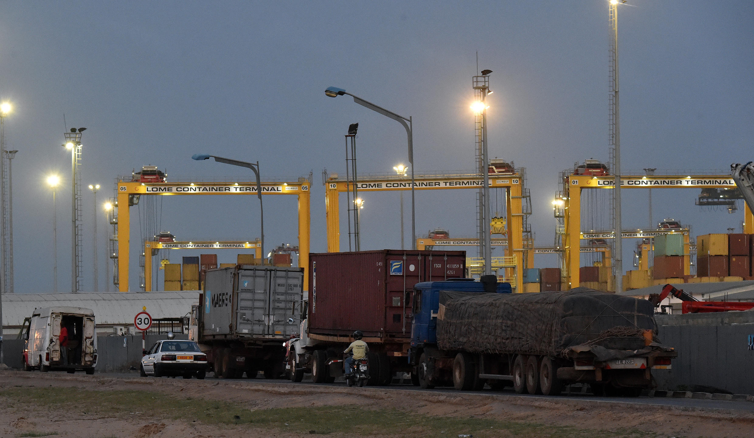 Bollore admitted it used corruption to win a Lome port contract