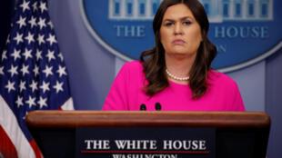 Phát ngôn viên Nhà Trắng Sarah Huckabee Sanders