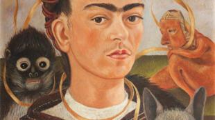 Os mais de 50 autorretratos de Frida Kahlo fizeram com que seu rosto se tornasse conhecido do grande público.
