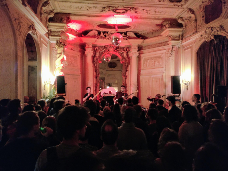 Whales em concerto no Carmen, em Paris - Outubro de 2018