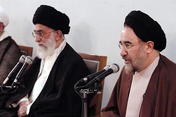 دیدار اعضای هیأت دولت خاتمی با رهبر جمهوری اسلامی ایران در سال 1383