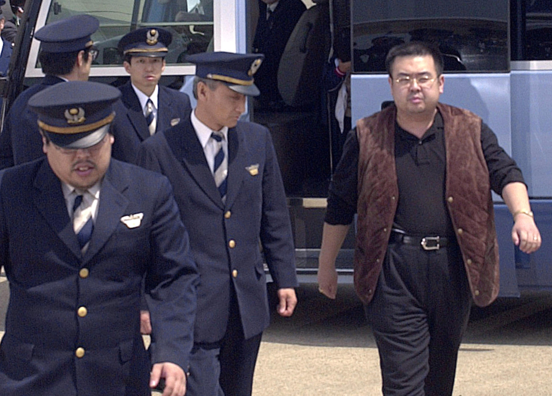 Старший брат лидера Северной Кореи Ким Чен Ына Ким Чен Нам, май 2001 года