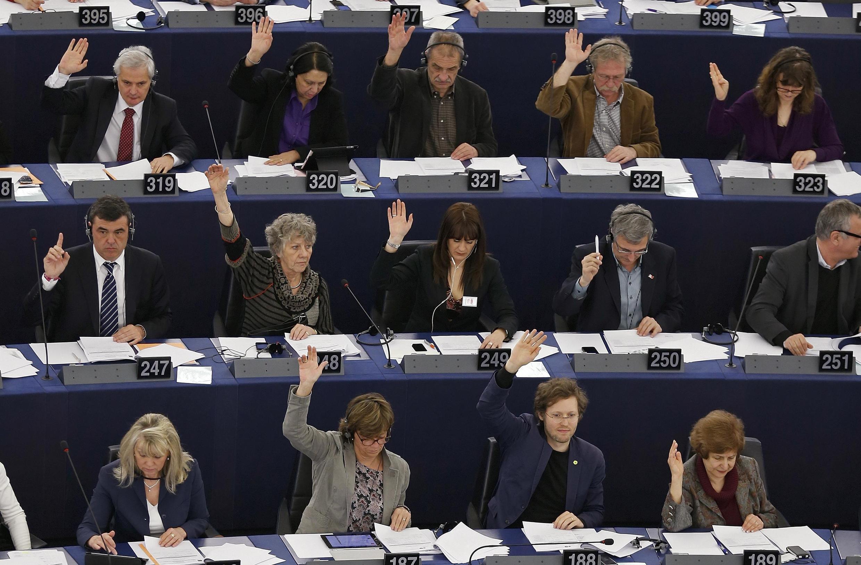 Голосование в Европарламенте (архив)